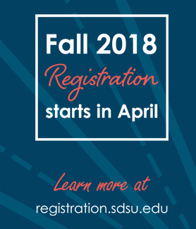 Registration for the fall 2018 semester now begins in April.