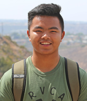 Aerospace engineering major Long Nguyen of Vietnam said attending SDSU was an easy decision.