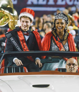 2017 SDSU Homecoming Royals