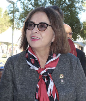 President Adela de la Torre at SDSU Imperial Valley
