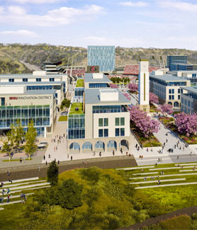 Rendering of SDSU Mission Valley