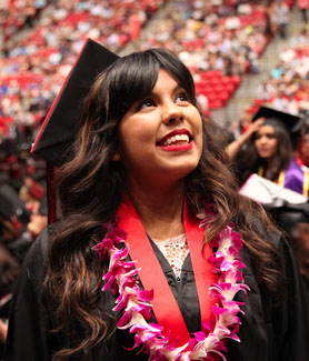 SDSU will host seven separate ceremonies May 17-19 at Viejas Arena and one ceremony on May 16 at SDSU Imperial Valley.
