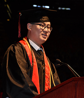 Chenxi Chu was 2019 valedictorian for the SDSU College of Engineering