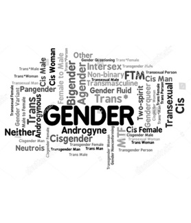 He/She/They: Why pronouns matter and what it means to be non-binary. Image: Stock image.
