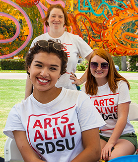Photo of past Arts Alive SDSU event (Photo: Scott Hargrove/SDSU)