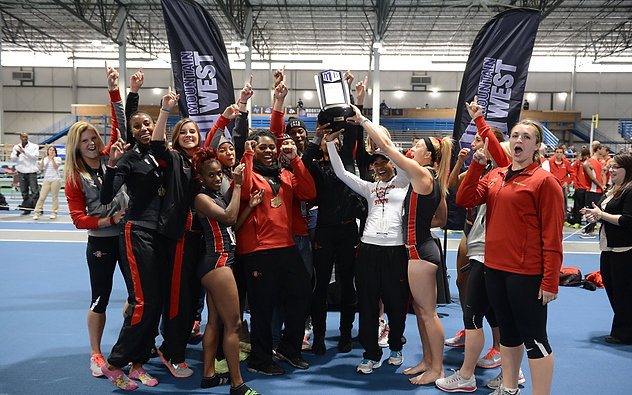 Track and Field Claims First-Ever MW Indoor Title