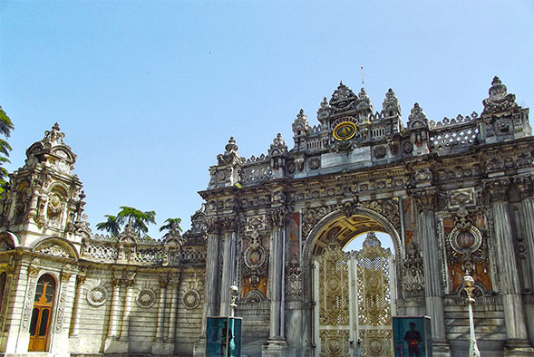 Dolmabahçe Palace in Istanbul, Turkey, where one SDSU Fulbright recipient will teach English next year.