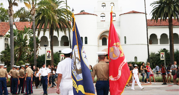 SDSU is dedicated to serving veteran students on and off campus.