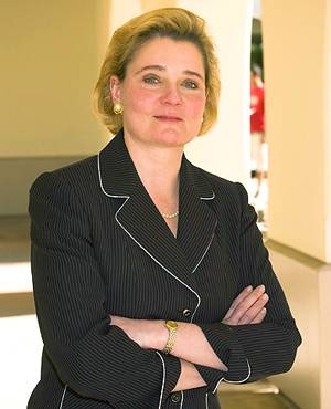 SDSU College of Business Administration Dean Gail Naughton