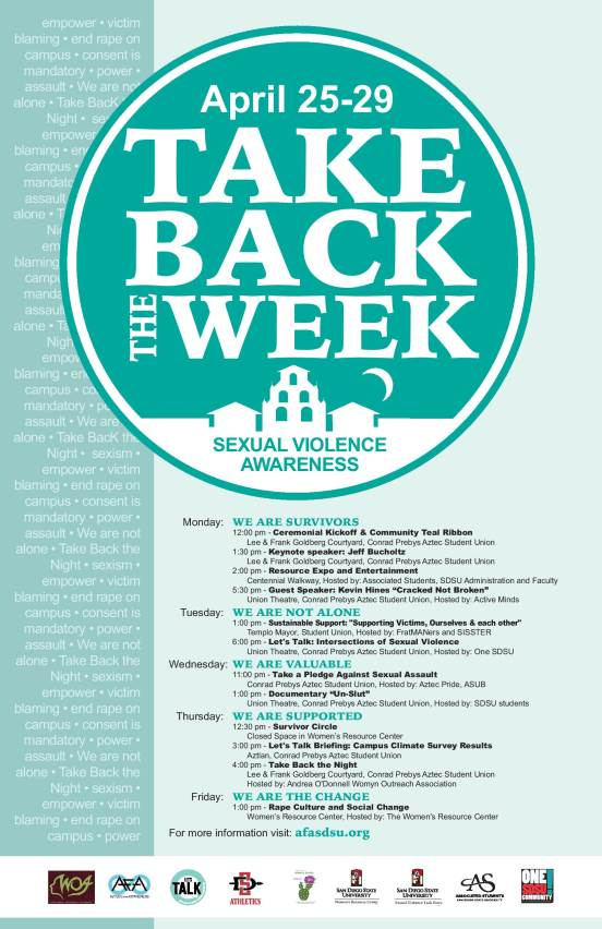 Take Back the Week 2016