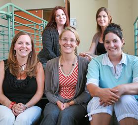 photo: student interns
