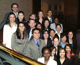 photo: student program participants