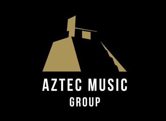Aztec Music Group with logo