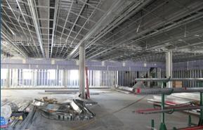 Photo: Aztec student union construction