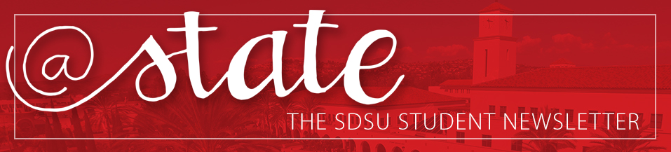 @State The SDSU Student Newsletter header