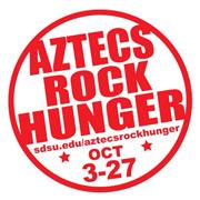 logo: Aztecs Rock Hunger