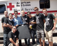 Photo: Fraternity holds a blood drive