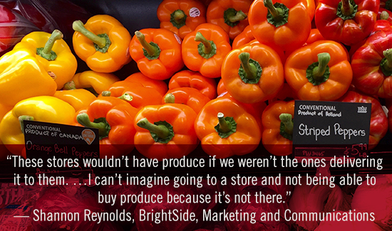 SDSU's Brightside produce - a lesson in business and humanity