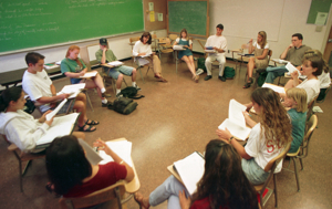 Photo: students in classroom