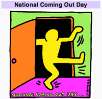 Image: National Coming Out Day logo