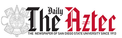 Daily Aztec logo: The Newspaper of SDSU since 1913