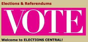 Image: elections & Referendums Vote welcome to elections central