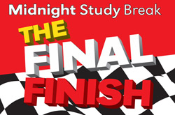 Midnight Study Break - The Final Finish