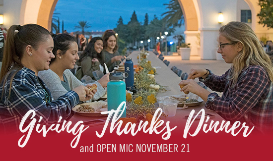 fifth annual Giving Thanks Dinner