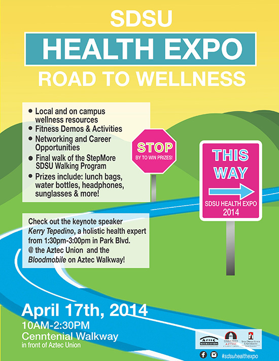 state April 2014 - Health Expo | SDSU