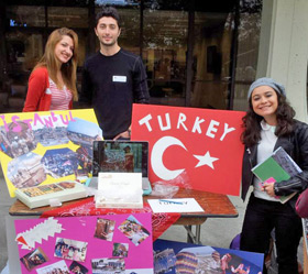 students from Turkey