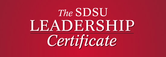 The SDSU Leadership Certificate