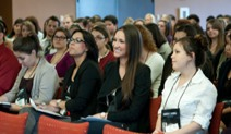 Photo: students in leadership seminar
