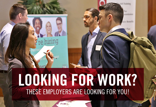 looking for work? these employers are looking for you