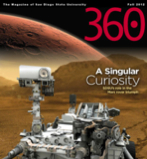 image: Cover of fall 2012 360 magazine: A Singular Curiosity