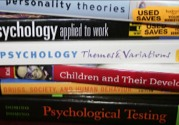 Image: psychology textbooks