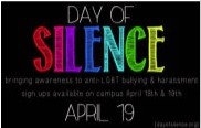 Image: day of silence April 19 2013