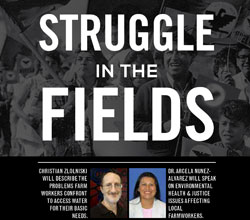 Struggle in the Fields event poster