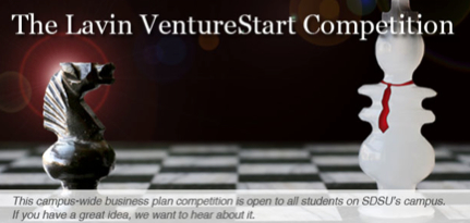 The Lavin Venture start competition: if you have a great idea, we want to hear about it.