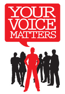 Your Voice Matters logo
