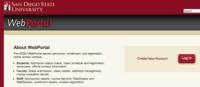 Image: SDSU webportal