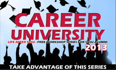 Image: Career University: Free workshop series life after sdsu