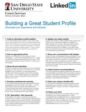 Build a great LinkedIn profile - thumbnail