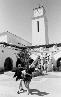 Photo: SDSU clocktower
