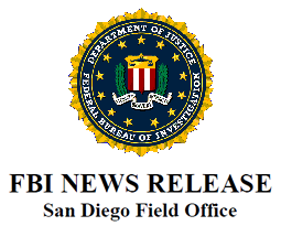 FBI news release header