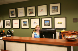 Photo: Career Services front desk