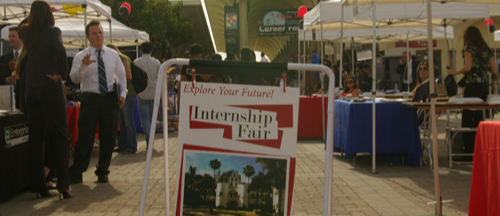 Photo: SDSU Internship Fair