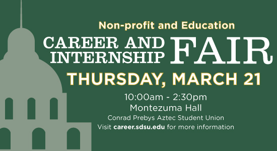 Non-Profit and Education Career and Internship Fair