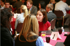 Photo: speed networking