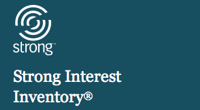 Image: strong interest inventory logo