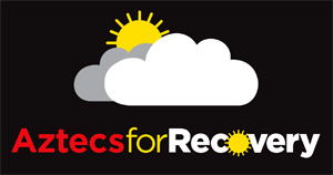 Aztecs for Recovery - sun emerging from behind clouds